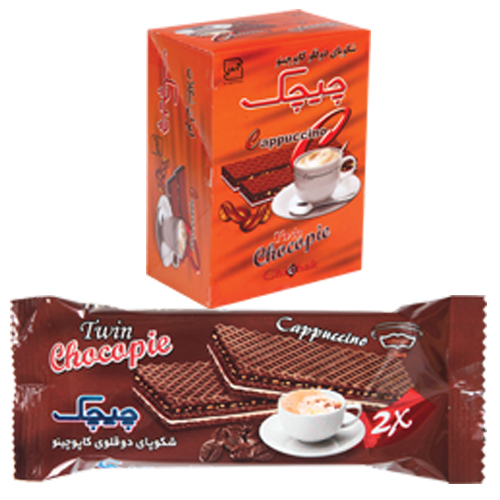 Chocopie Twin Cappuccino Wafer
