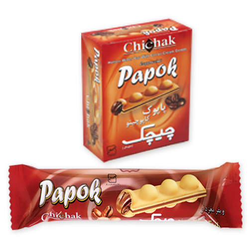 cappuccino Papok Wafer